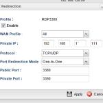 Router external